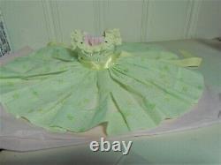 Fabulous Dress, Richard Hat, Shoes For Vintage Madame Alexander Elise