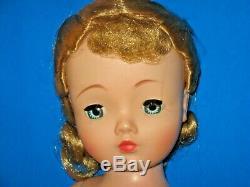 GORGEOUS! 1950s BLONDE Madame Alexander Cissy Doll Ready to Dress