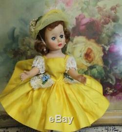 GORGEOUS MADAME ALEXANDER 1950's Auburn Cissette Doll Tagged Outfit