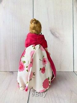Gorgeous Madame Alexander Cissette Rose Gown All Original 1950's