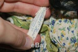 Gorgeous! Vintage Tagged 18 Scarlett O'Hara Madame Alexander Composition Doll
