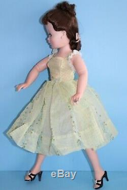 HTF Flocked Nylon Sun Dress Only Vintage Madame Alexander Cissy (No Doll)