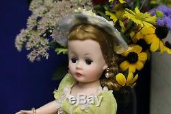 HTF MADAME ALEXANDER 1950's Cissette Doll Tagged Outfit with BOX GORGEOUS