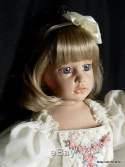 Hildegard Gunzel 1991 Artist Hand Signed Marisa LE 25 inch Vinyl Doll