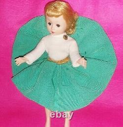 Htf 1958 Vintage Madame Alexander Cissette Doll Skirt & Jersey Top # 815 Vgc