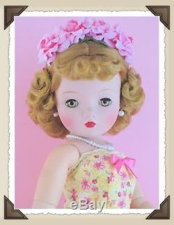 KNOCKOUT Vintage Madame Alexander Cissy Blonde Bombshell Refuses To End Summer