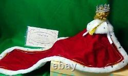 Le 392/500 Mib 10 Madame Alexander Queen Elizabeth Processional 33530 Crowncape