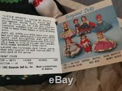 Lot of 6 Madame Alexander Little Women Dolls, All In Original Boxes, with tags