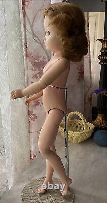 Loved! Vintage Madame Alexander 21 Cissy Doll Redhead Fixer-Upper