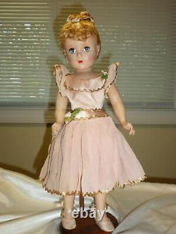 Lovely 1948 Madame Alexander NINA BALLERINA DOLL Great Condition/Some TLC