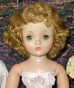 Lovely Madame Alexander 19 20 Vintage Cissy Doll 2 Tagged Items & Extras