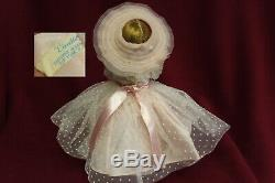MADAME ALEXANDER 1950's Dark Blonde Cissette Tagged Gown GORGEOUS