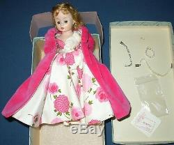 MADAME ALEXANDER BEAUTIFUL CISSETTE 9 DOLL 1950s LONG GOWN CAPE JEWLERY&MORE