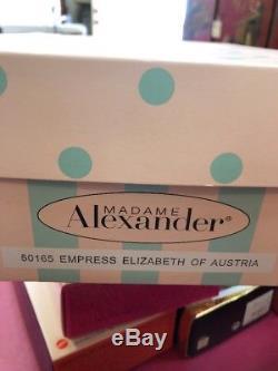 Madame Alexander 10 Empress Elizabeth Of Austria 50165 LE 207/350 New NRFB RARE