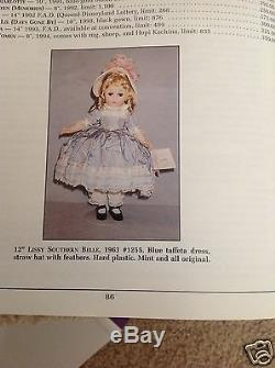 Madame Alexander 12 Lissy Southern Belle 1963 Lissy Southern Belle #1255 RARE