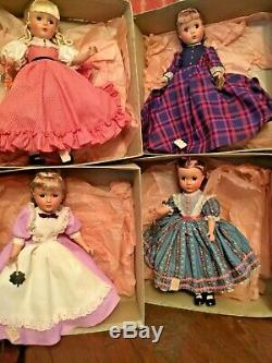 Madame Alexander 14 Set Boxed circa 1950 Little Women Store Orig. Tags Younkers