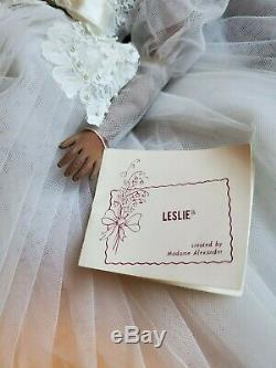 Madame Alexander 17 Leslie Bride