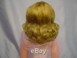 Madame Alexander 1950's Blonde CISSY Doll 20 STUNNING