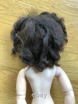 Madame Alexander 1950's CISSY Brunette with Curly Bangs Doll NICE