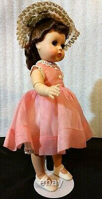 Madame Alexander 1950's! LISSY Doll Vintage Original Outfit Hat Stand LOVELY 11