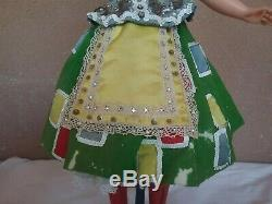 Madame Alexander 1950s vintage 20 or 21 Cissy fashion doll Ice Capades stunning
