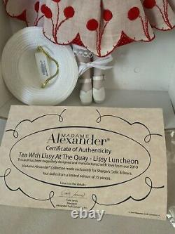 Madame Alexander 2010 Tea WithLissy At The Quay Lissy Luncheon for Sharons Dolls
