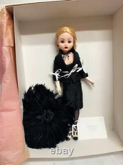 Madame Alexander 21 Cissy Haute Couture in Black Suit Clothes Feather Hat & Box