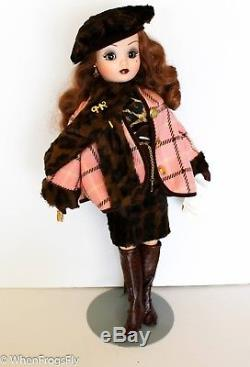 Madame Alexander 21 Coral & Leopard Cissy