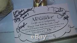 Madame Alexander 21 Happy Feet 1990 Rockette Cissy LE 175 AUTOGRAPHED NEW NRFB