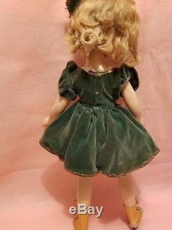 Madame Alexander 21 Sonja Henie compo 1930's doll all orig