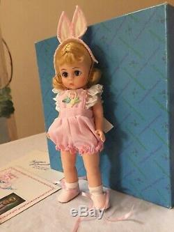 Madame Alexander 8 Child at Heart LE Easter Bunny (1991) with Box/Hangtag