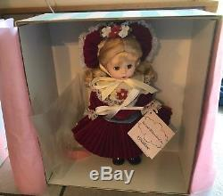 Madame Alexander 8 Doll Good Old Days Coca-Cola 36020 With Box And Hang Tag