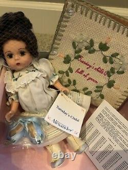 Madame Alexander 8 Monday Tuesday Wed Thurs Friday Saturday's Child Dolls MIB