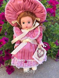 Madame Alexander 8 Victorian Valentine. 2001 Extremely Rare/ Htf/ Mib