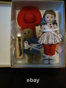 Madame Alexander 8 Wendy Loves Paddington Bear Doll and Bear Trunk Set