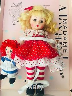Madame Alexander, 8 in doll Raggedy Ann and Me #45429