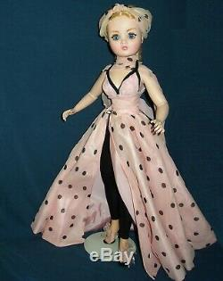 Madame Alexander Beautiful Cissy 21 Articulate Doll In A Pink & Black Outfit