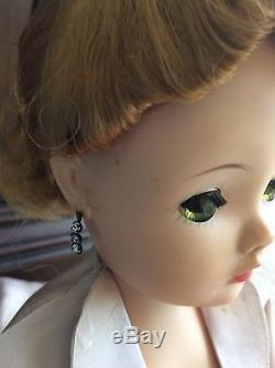 Madame Alexander Cissy Doll 20 Tagged Purple Taffeta Ballgown