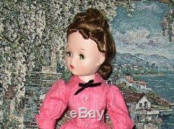 Madame Alexander Cissy Jointed 20 Wonderful Doll Dress Hat Slip Pantes