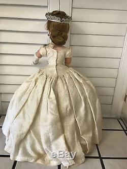 Madame Alexander Cissy Queen Elizabeth Doll 20 Vintage TAGGED DRESS BEAUTIFUL
