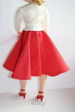 Madame Alexander Cissy Red Faile Skirt Tagged Nylon Knit Top & Shoes (No Doll)