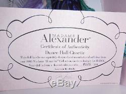 Madame Alexander Dance Hall Turquoise Cissy 2004 Madcc With Souvenir Cissette