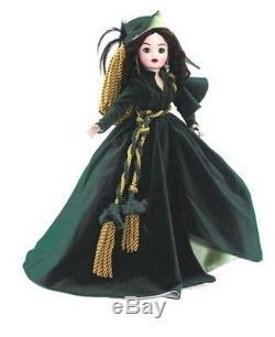 Madame Alexander Doll 50260 Scarlett O'Hara Portieres Dress 21 LE 75/125 NIB