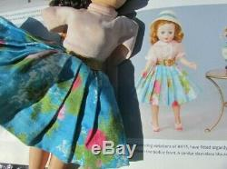 Madame Alexander Doll Cissette Outfit Watercolor Skirt Pink Blouse Box HTF 1958