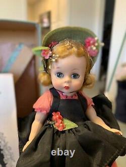 Madame Alexander Doll Wendy Has Fun Wearing Black Taffeta! 1956