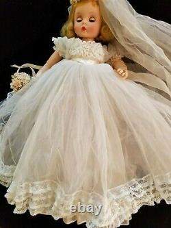 Madame Alexander Elise Bride (Marybel face) in 1963 Layers of Lace dress