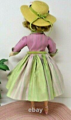 Madame Alexander Elise In Watermelon/rainbow Dress Beautiful
