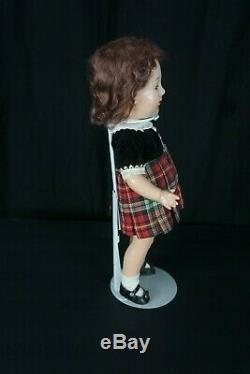 Madame Alexander Jane Withers Composition Doll Circa 1937 15 Tall Tagged Dress