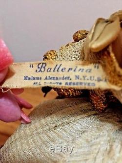 Madame Alexander Karen Ballerina 1948 All Original Composition