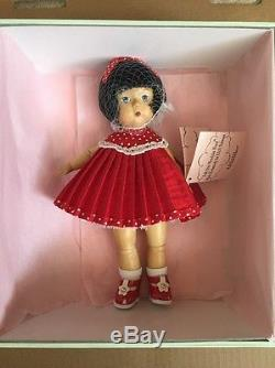 Madame Alexander Limited Edition Wood Carved 2004 Wendykin New In Box